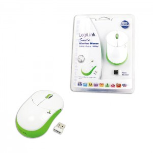 LogiLink Cordless Optical Mouse Green