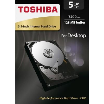 """Toshiba X300 5TB 7200RPM 128MB 3.5"""" SATA"""