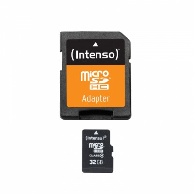 Intenso microSDHC 32GB Class 4 with Adapter