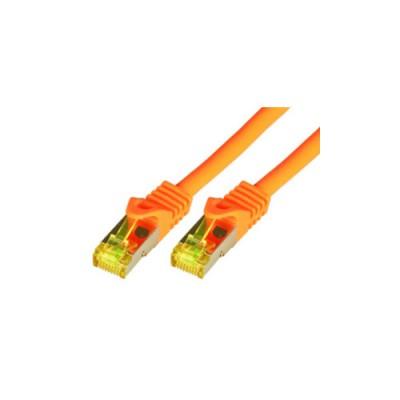 Mcab CAT7 0.25m Orange