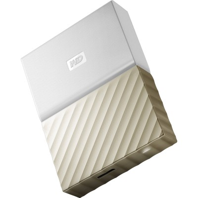 WD My Passport Ultra 2 TB (white / gold)