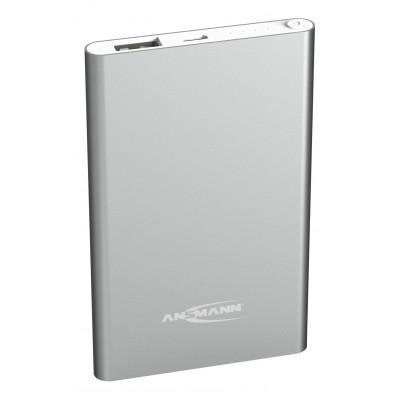 Ansmann 4000 mAh Silver Power Bank