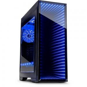 Inter-Tech M-908 Infinity-Mirror (Black)