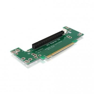 DeLock Riser card PCIe x16 -> x16 90 ° angle 2U