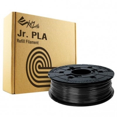 Filamentcassette Black PLA for 3D printer NFC Junior