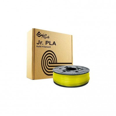 Filamentcassette Clear Yellow PLA for 3D printer NFC Junior