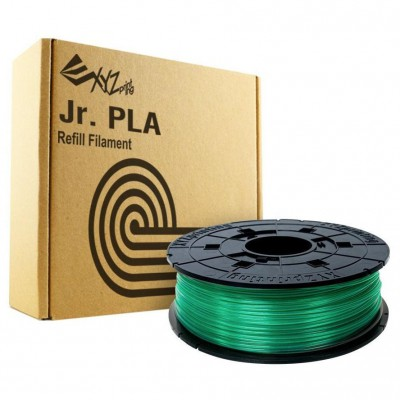 Filamentcassette Clear Green PLA for 3D printer NFC Junior