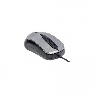 Manhattan Edge Optical USB Mouse Grey/Black