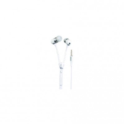 "TakeMS Headphones In-EAR ""Zip"" white retail"