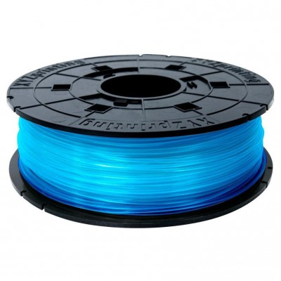 Filamentcassette Clear Blue PLA 3D printer da Vinci