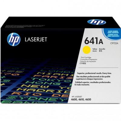 HP Color LaserJet C9722A Yellow Print Cartridge