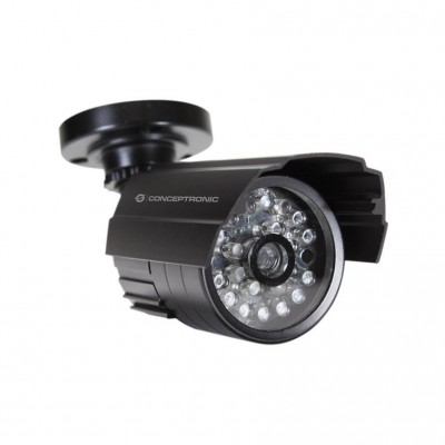 CONCEPTRONIC Outdoor Dummy Camera with LED (red, flashing)