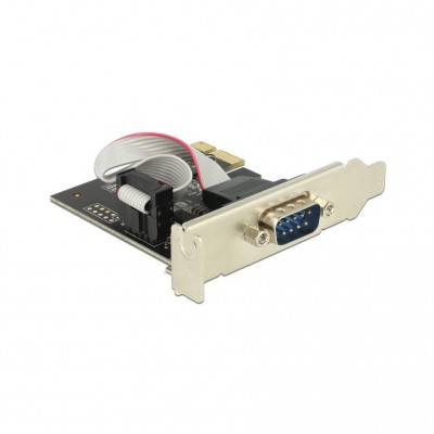DeLock PCI- ECard 1x D-Sub 9 ext + LowProfile