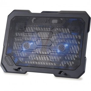 Conceptronic 2-Fan Notebook Cooling Pad 15.6""