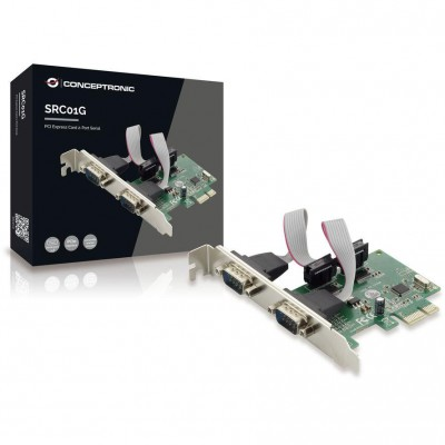 Conceptronic PCIe card 2x serial