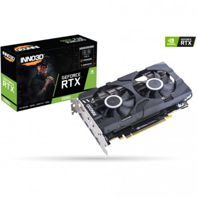 Inno 3D GeForce RTX 2060 6GB Twin X2 (N20602-06D6-1710VA23)