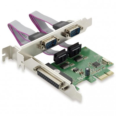 Conceptronic interface PCIe 2x Serial 1x Parallel