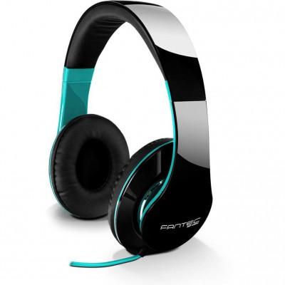 Fantec Headphones SHP-250AJ-TQ Black / Turquoise
