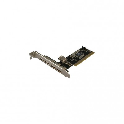 LogiLink PCI Interface Card USB 2.0 4 int. + 1 ext.