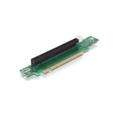 Delock Riser card PCIe x16 -> x16 90 ° angle 1U