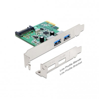 Delock PCI-E Card 2x USB 3.0 ext