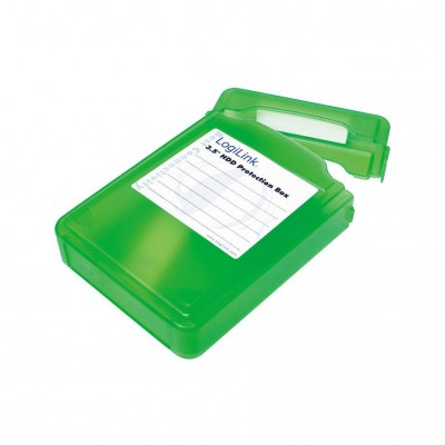 "LogiLink Protection Box for 3.5"" green"
