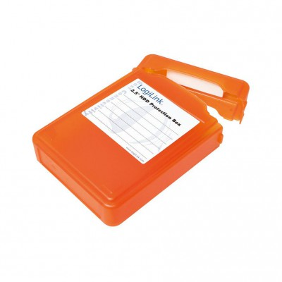 "LogiLink Protection Box for 3.5"" orange"