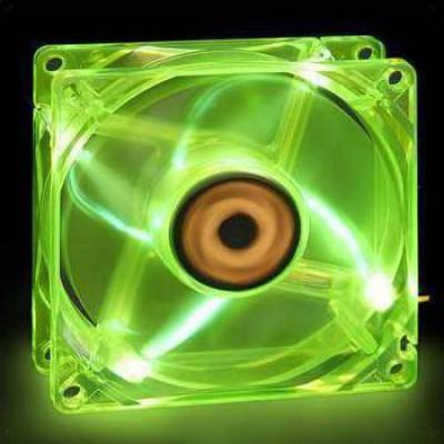 Revoltec Dark Green LED 120mm