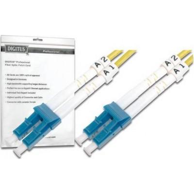 Digitus Optical Fiber LC-LC Cable 5m Κίτρινο (DK-2933-05)