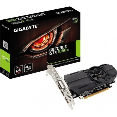 Gigabyte GeForce GTX1050 Ti 4GB OC Low Profile
