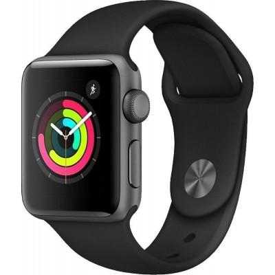 Apple Watch Series 3 Space Grey Aluminium 38mm (Black Loop)