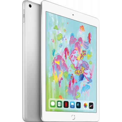 "Apple iPad 9.7"" 2018 Wi-Fi and Cellular (32GB) Silver"