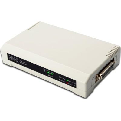DIGITUS 2+1 Port Print Server
