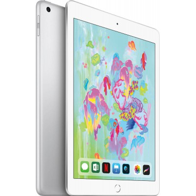 "Apple iPad 9.7"" 2018 Wi-Fi and Cellular (128GB) Silver"
