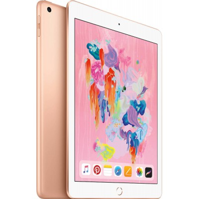 "Apple iPad 9.7"" 2018 Wi-Fi and Cellular (128GB) Gold"