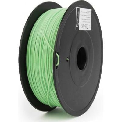 Gembird Filamentcassette PLA green 1.75mm 0,6kg 53mm narrow coil