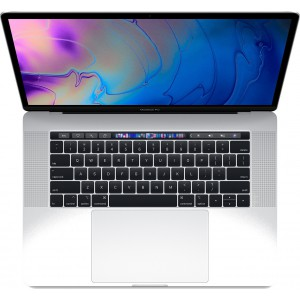 "Apple MacBook Pro 15.4"" (i7-8750H/16GB/256GB SSD/Radeon Pro 555X) with Touch Bar (2018) Silver Greek"