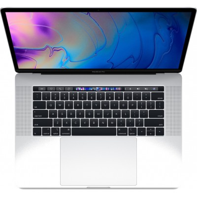 """Apple MacBook Pro 15.4"""" (i7-8850H/16GB/512GB SSD/Radeon Pro 560X) with Touch Bar (2018) Silver"""