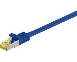 Mcab CAT7 0.25m Blue