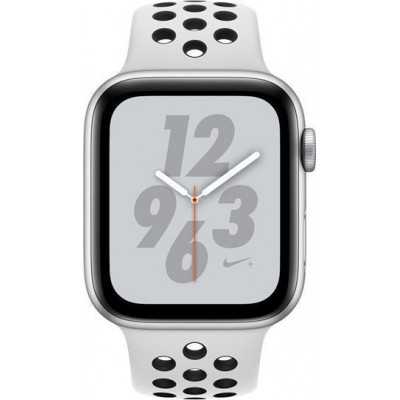 Apple Watch Series 4 Nike+ GPS Aluminium 44mm Silver