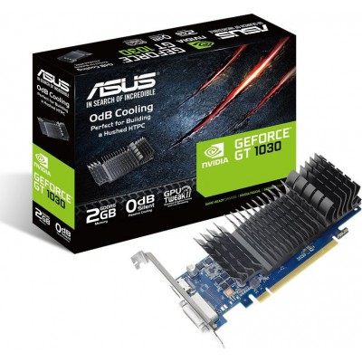 Asus GeForce GT 1030 2GB LP Silent with Brackets