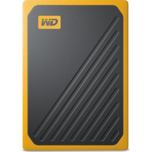 Western Digital MyPassport Go 1TB Amber