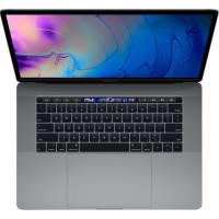 "Apple MacBook Pro 15.4"" (i7/16GB/256GB SSD/Radeon Pro 555X) with Touch Bar (2019) Space Grey Greek Keyboard"