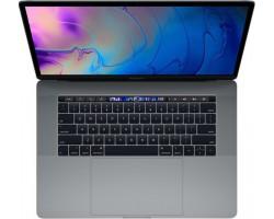 "Apple MacBook Pro 15.4"" (i7/16GB/256GB SSD/Radeon Pro 555X) with Touch Bar (2019) Space Grey Greek Keyboard"