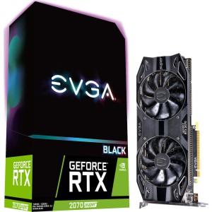 EVGA GeForce RTX 2070 Super 8GB Black Gaming