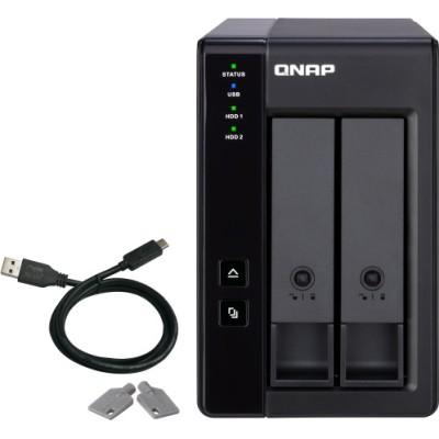 """QNap TR-002 storage drive enclosure 2.5/3.5"""" HDD SSD enclosure"""