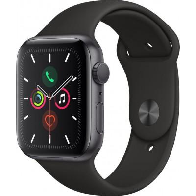 Apple Watch Series 5 Aluminium 40mm Space Grey Black Sport Band