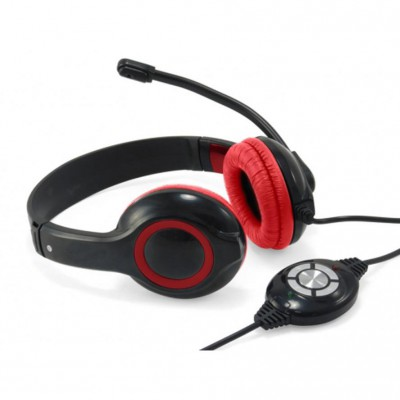 CONCEPTRONIC headset stereo cable Micro red