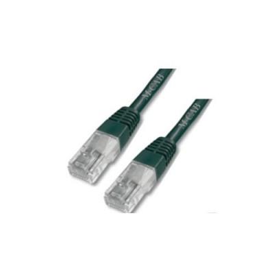 Mcab CAT6-U/UTP-PVC 0.5m Black