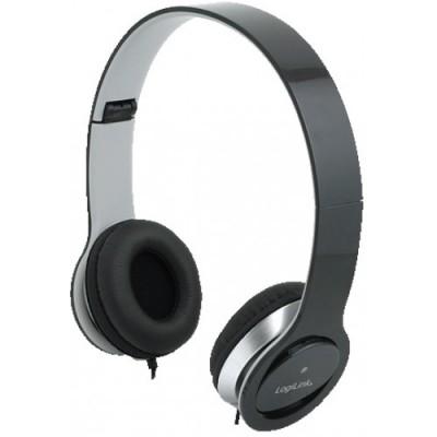 LogiLink Stereo High Quality Headset Black